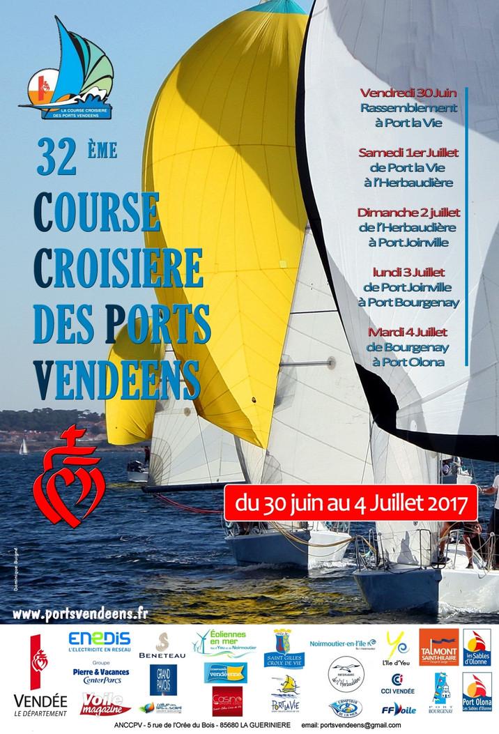 Course croisière des ports Vendéens