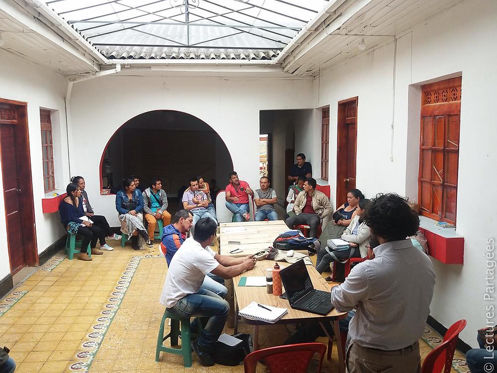Assemblée des producteurs de La Tulpa