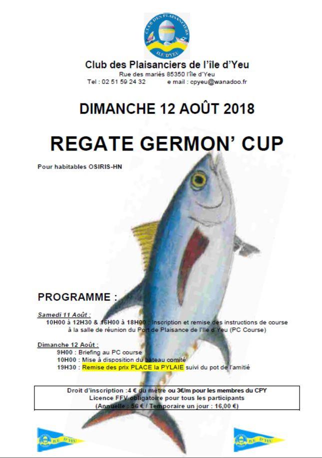 Germon Cup, les inscriptions sont ouvertes.