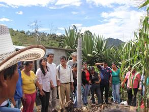 Premier atelier agro-écologique à San Francisco Bajo