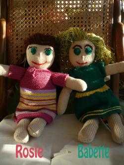 Babette (en stock) et Rosie (VENDUE)