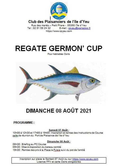Résultats Germon Cup
