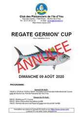Annulation de la Germon Cup