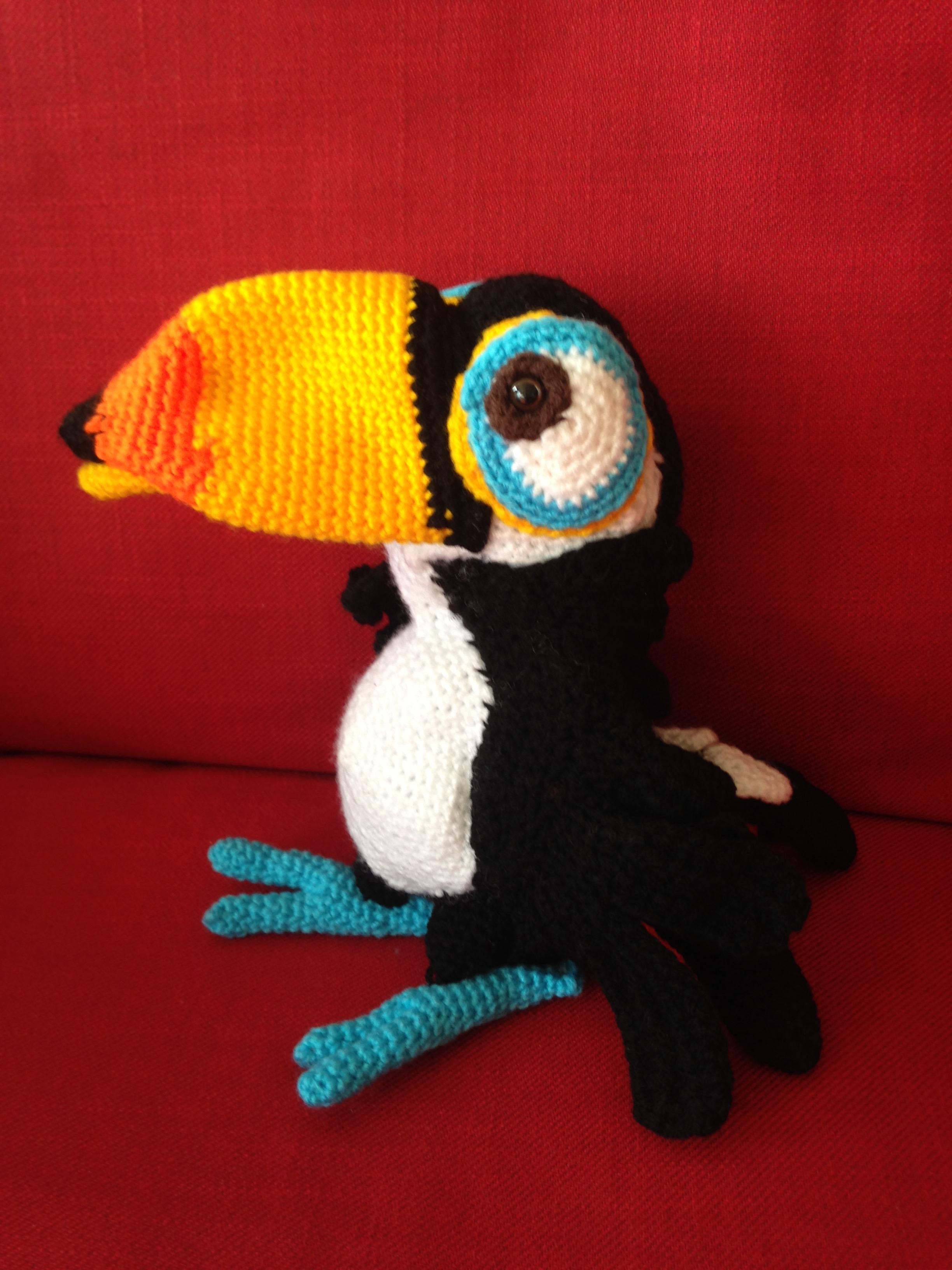 Adeline, le toucan