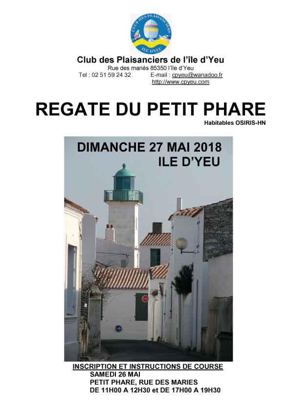 Régate du Petit Phare le 27 mai