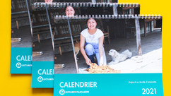 Achetez votre calendrier de La Tulpa 2021 et soutenez les familles paysannes de Nariño !