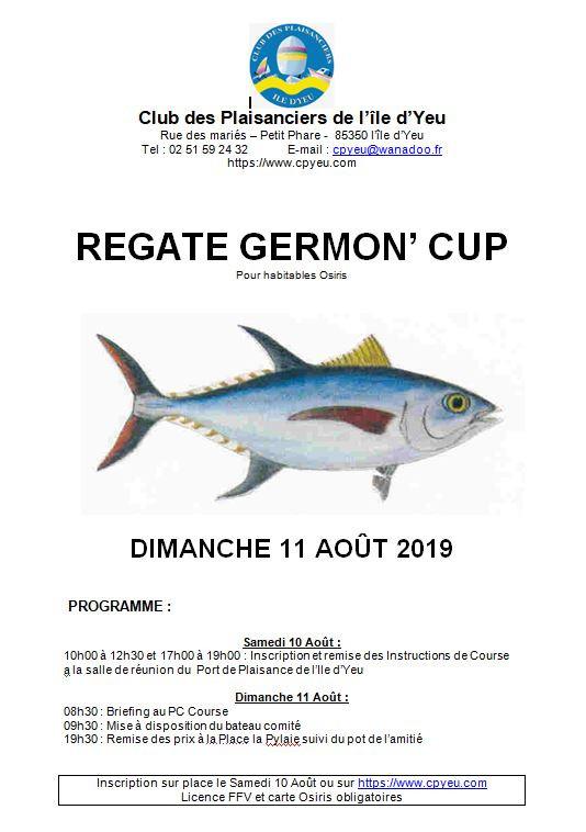 Le 11 août c'est la Germon Cup
