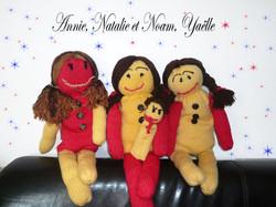 Annie, Natalie, Noam (2 VENDUES)
