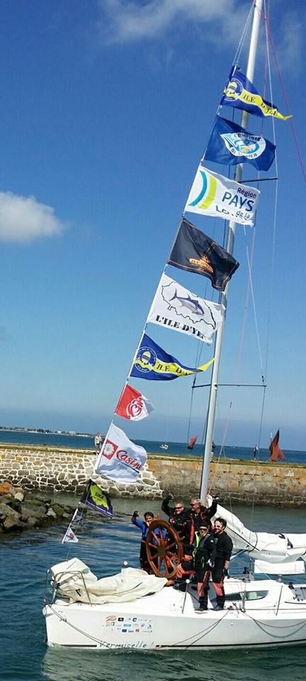 Défi des ports de pêche, l'Ile d'Yeu Victorieuse