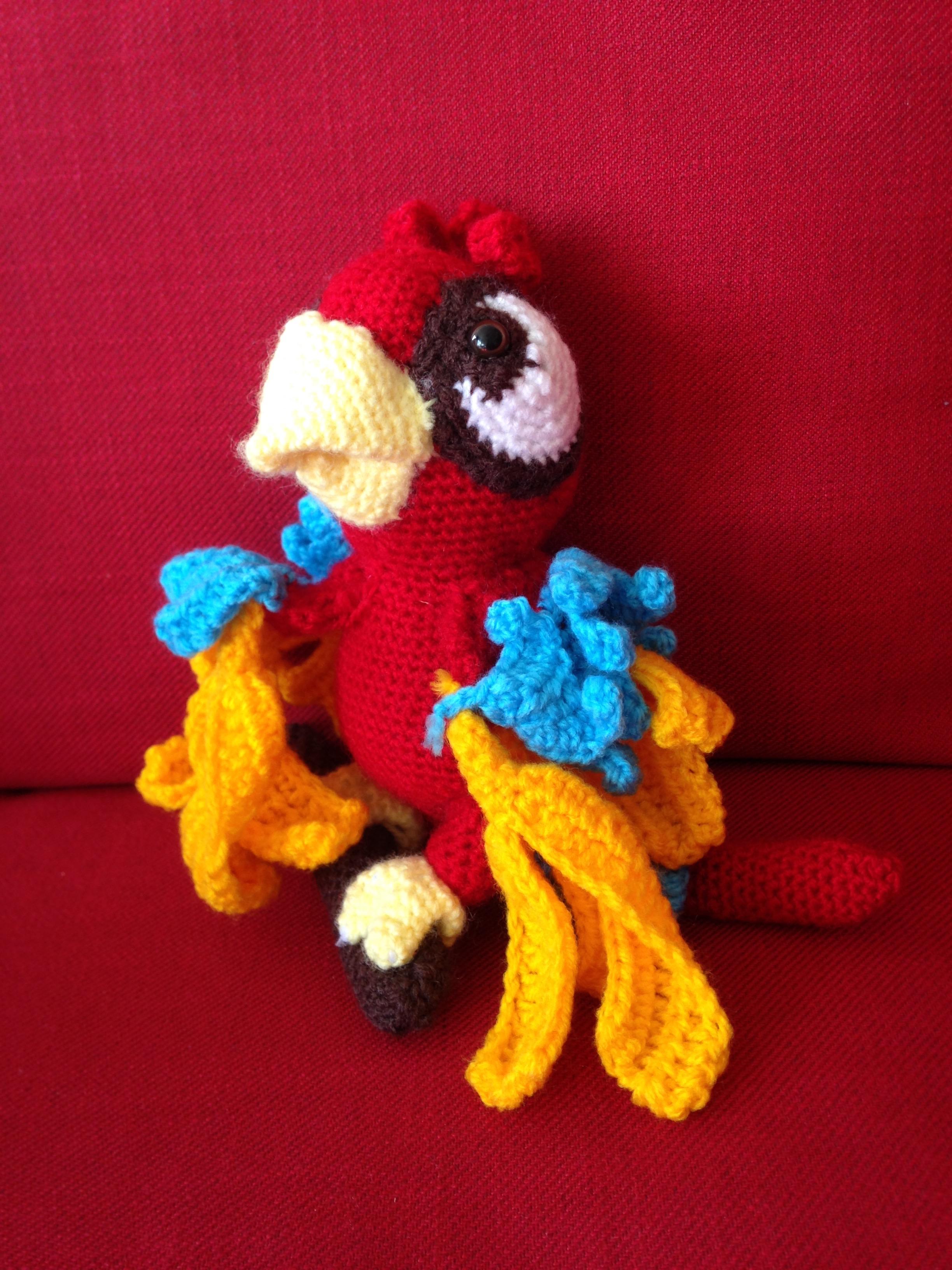 Albert, le perroquet