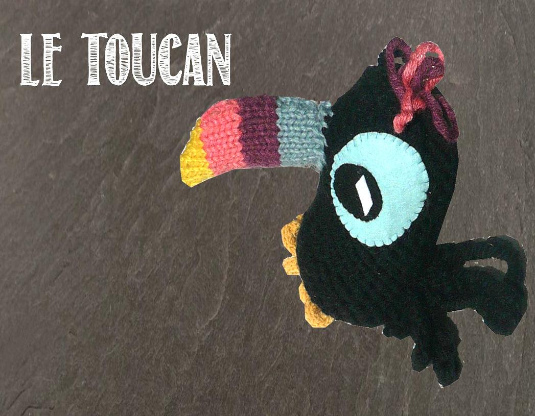 Le toucan  de Lucie