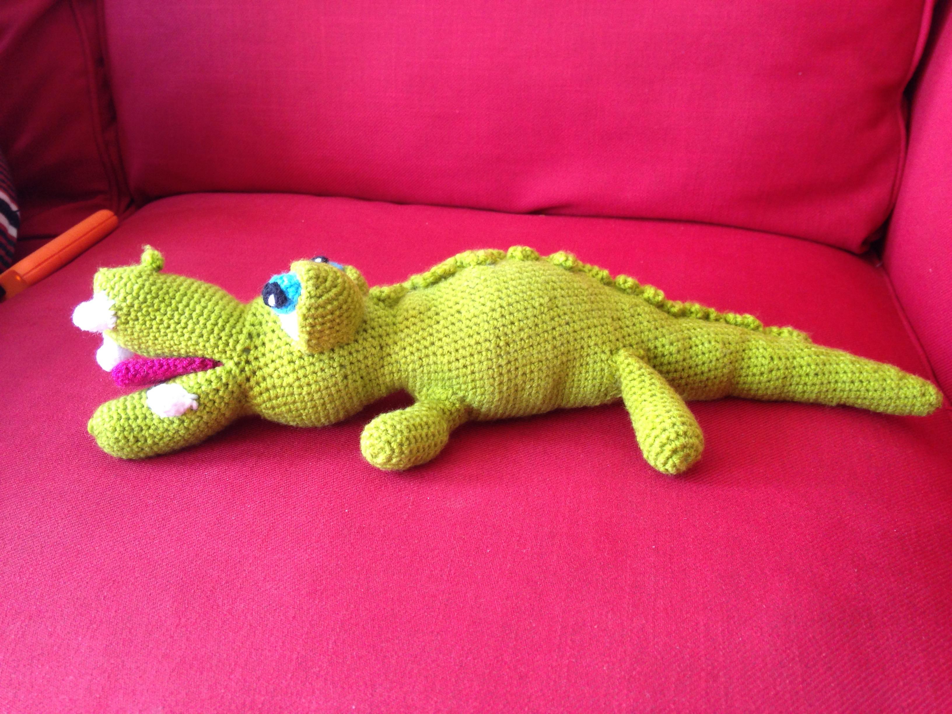 Sasha, le crocodile