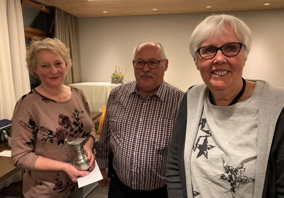 Barbara Sager, Hanspeter Kernen und Elisabeth Artho