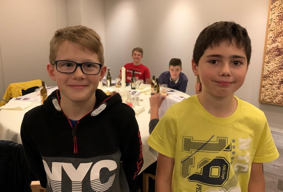 Leon Brandenberger und Cedric Herrmann
