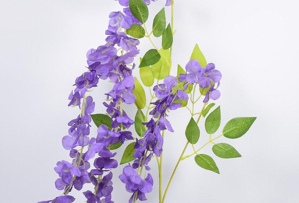 Κλωνάριγλυτσίναςσε 4 χρώματα - τεχνητό λουλούδι. Ψεύτικες γλυτσίνες
