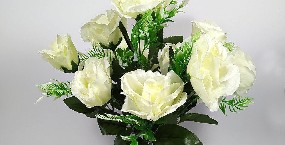 Τριαντάφυλλα - άσπρα - Μπουκέτο