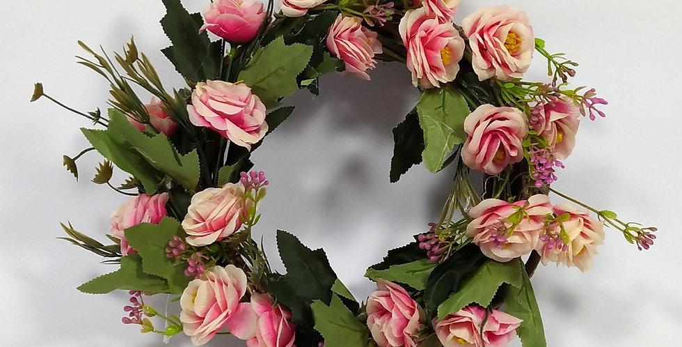 Τριαντάφυλλα παλ - Στεφάνι