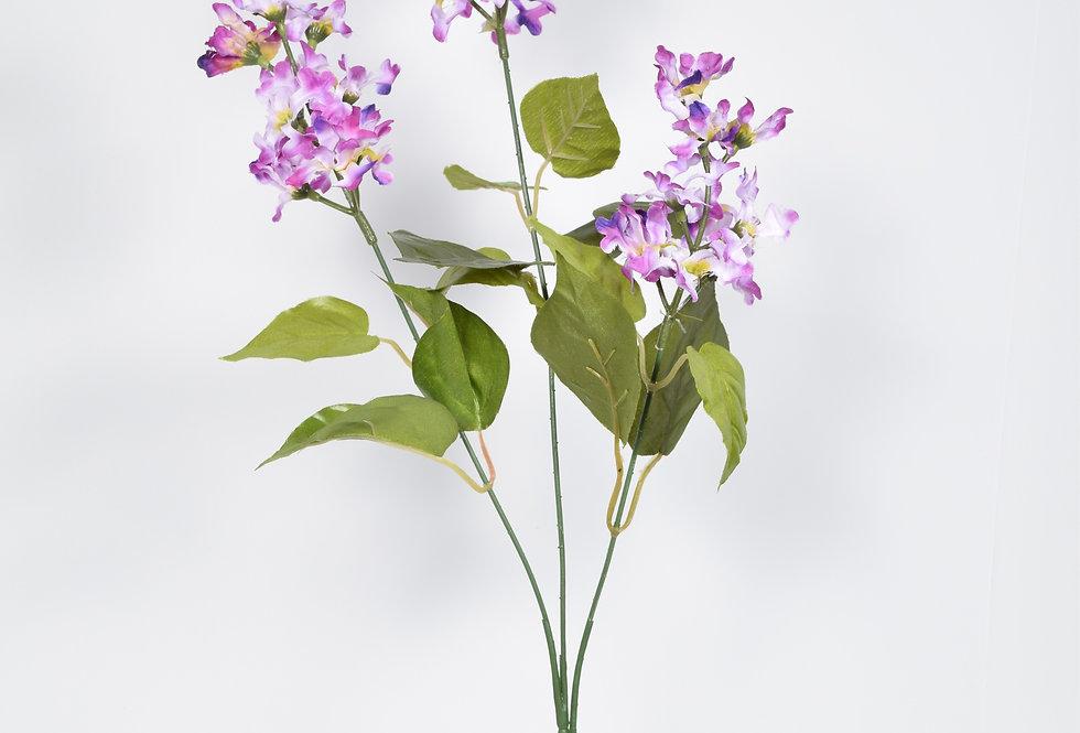 Κλωνάρι με τεχνητά άνθη πασχαλιές , σε 3χρωματικούς συνδυασμούς.