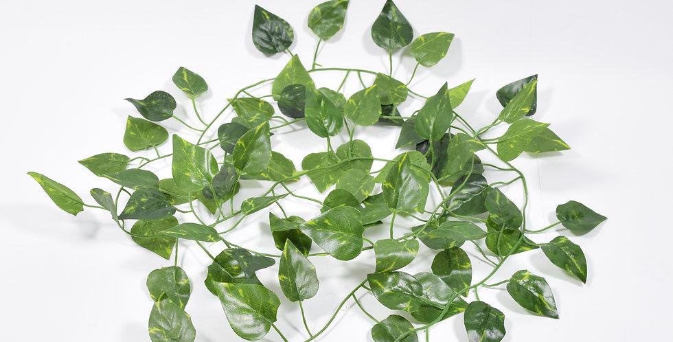 Γιρλάντα με τεχνητό πόθο με μικρά φύλλα. Ιδανική για να διακοσμήσετε αυλές, πέργκολες ή για να καλύψετε σωληνώσεις.
