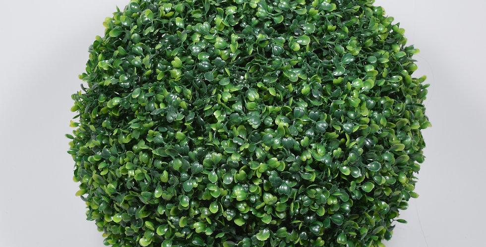 Μπάλα topiary, σε πράσινο χρώμα σε 3 διαφορετικές διαστάσεις