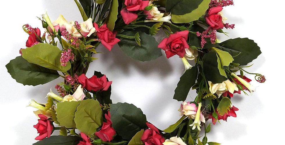 Τριαντάφυλλα  αστεράκι - Στεφάνι