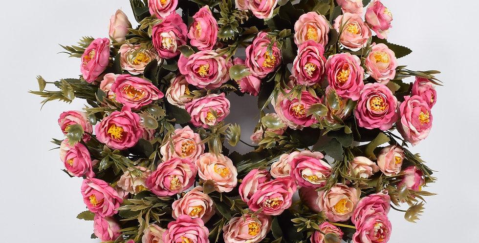 Νεραγκούλες ροζ - Στεφάνι