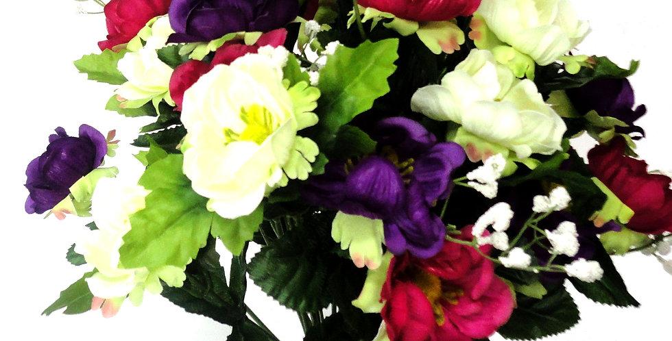 Ανεμώνες - μπουκέτο τεχνητά λουλούδια