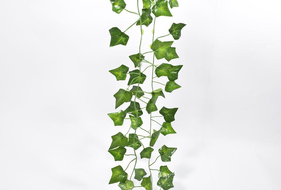 Γιρλάντα με τεχνητό κισσό με μικρά φύλλα. Ιδανική για να διακοσμήσετε αυλές, πέργκολες ή για να καλύψετε σωληνώσεις.
