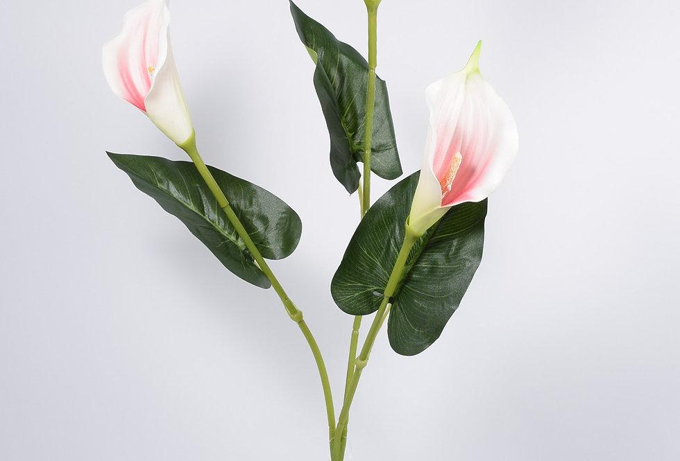 Κλωνάρι με τεχνητές κάλλες σε 3 χρώματα - ψεύτικα λουλούδια