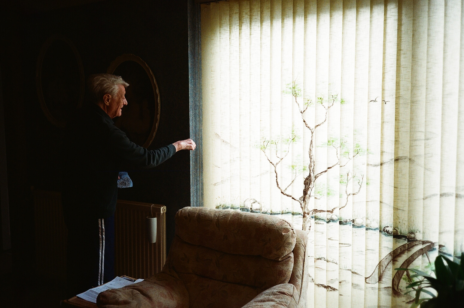 Photographs of my Grandpa from the series 'Grey'
