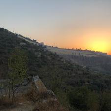 View towards Jerusalem