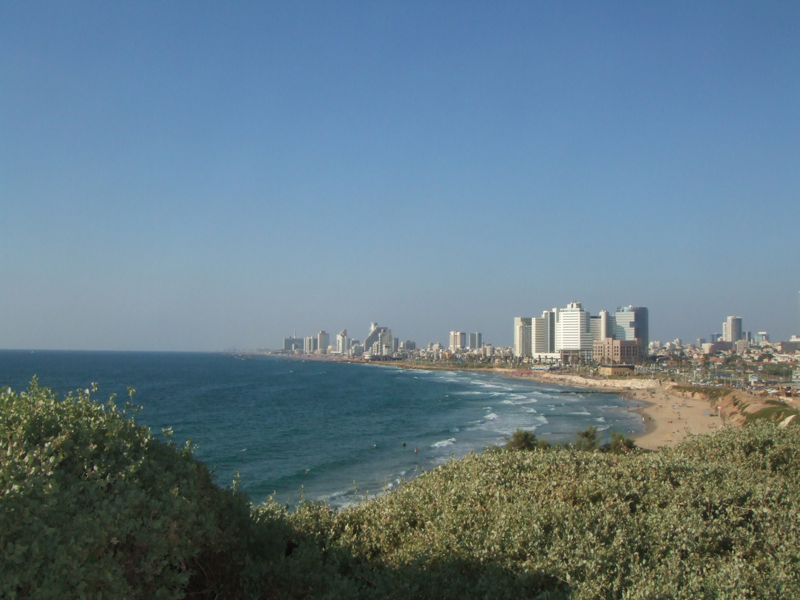 View of Tel Aviv from Jaffa, Israel