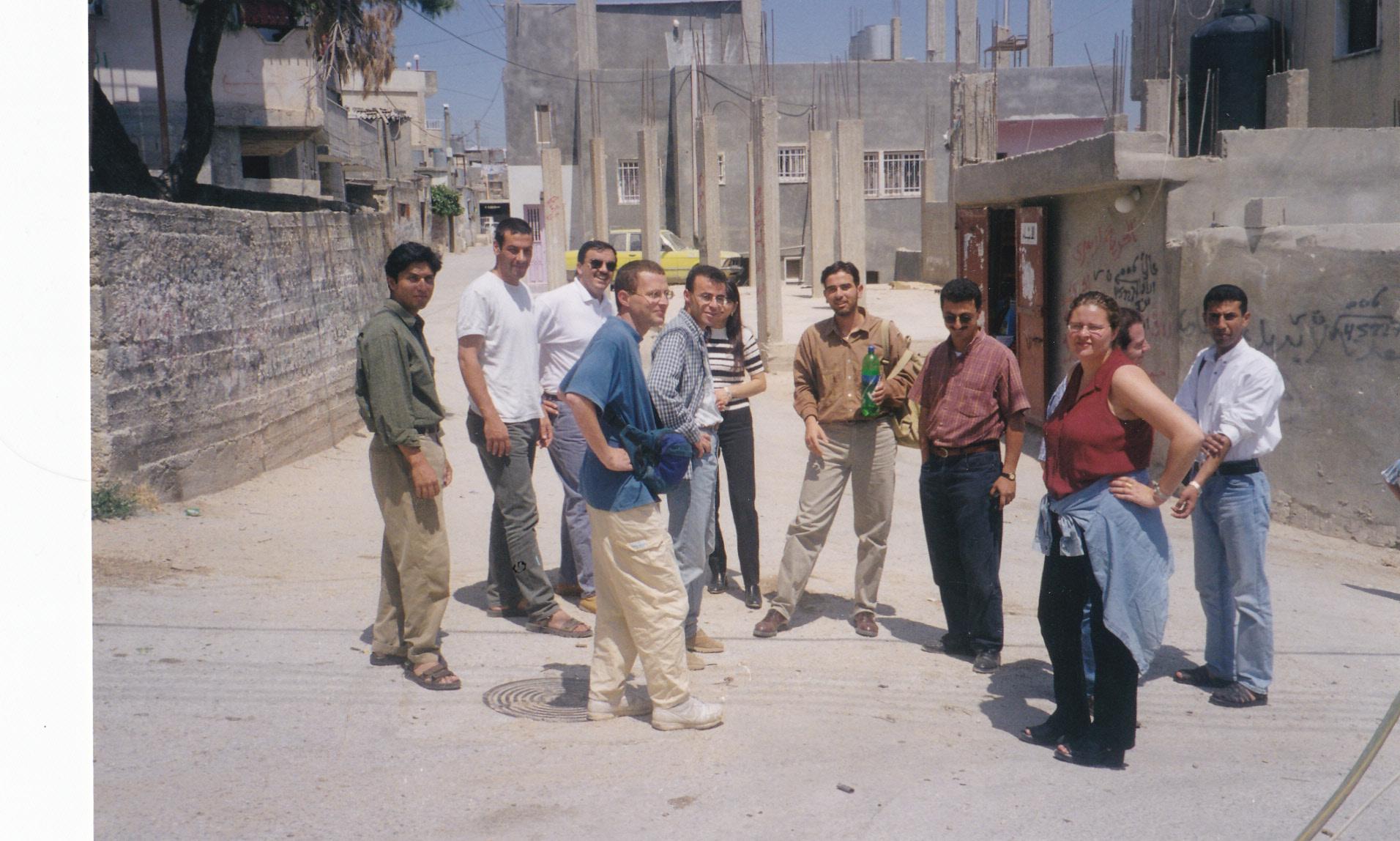 Balata refugee camp, West Bank