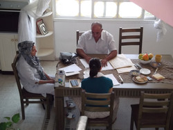 Arabic lesson, Salem, Israel