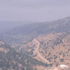 Golan, View towards Syria