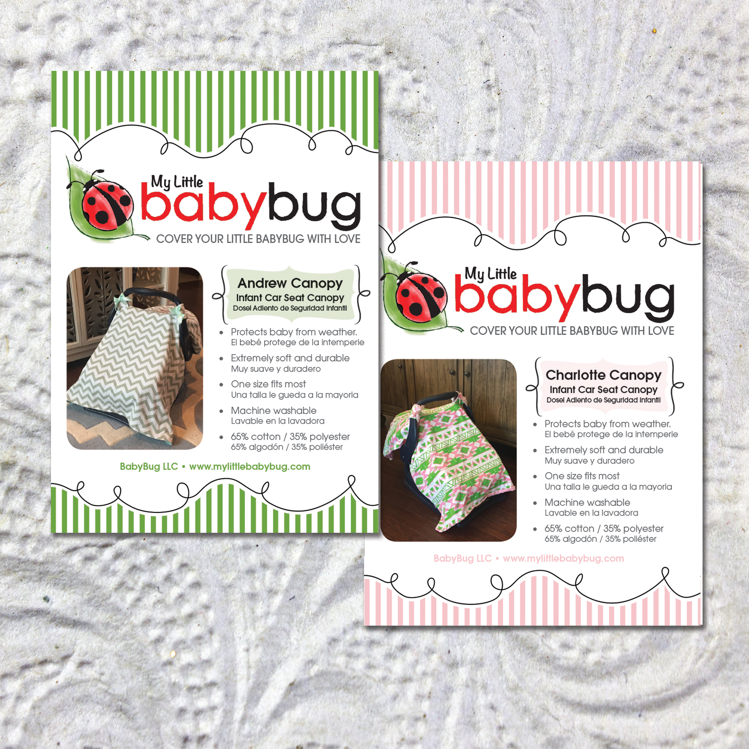Baby Bug Labels