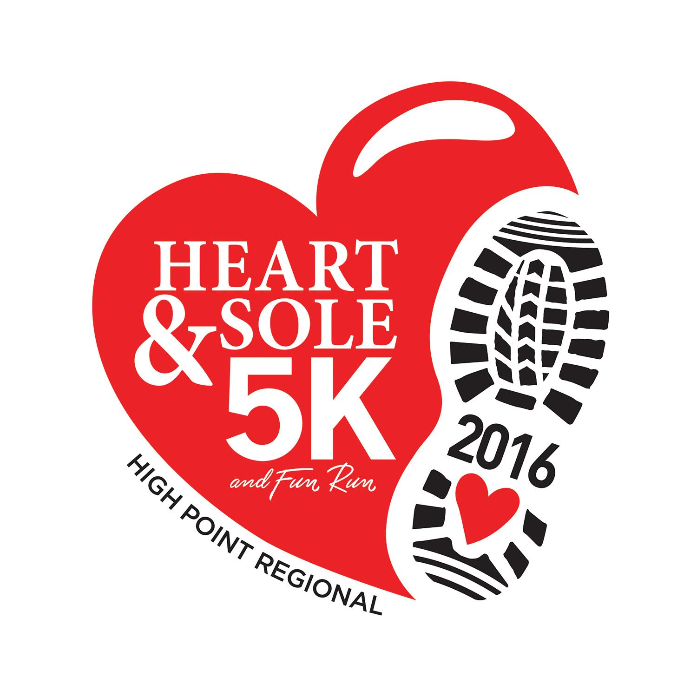 HeartandSole5K logo