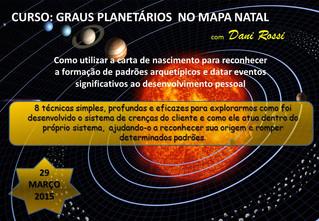 Workshop Astrologia - Os Graus Planetários