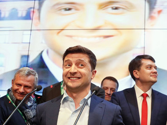 Lost for words: a tough first week for Ukraine's president-elect