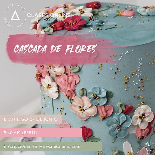 Grabación WORKSHOP Cascada de Flores