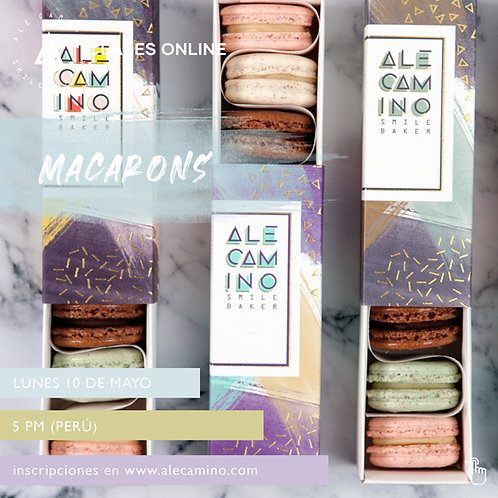 WORKSHOPS Macarons - 10May