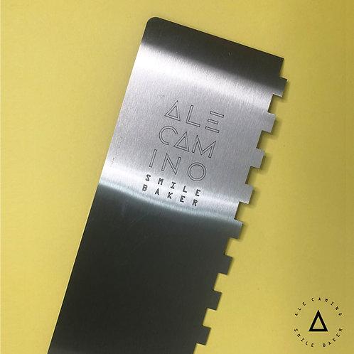 Alisador de acero dentado 1 cm - Utensilios