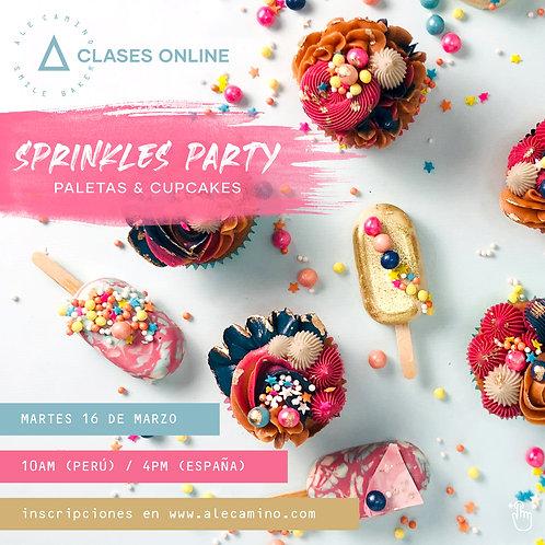 GrabaciónWORKSHOP Sprinkles Party - Paletas & Cupcakes