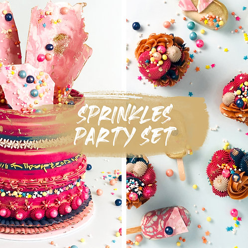 Sprinkles Party Set  - Color Bomb
