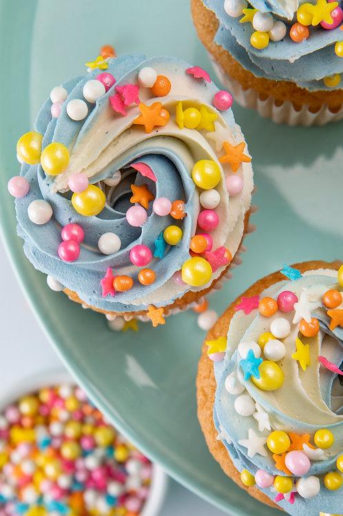 Cupcakes Box - Color Bomb