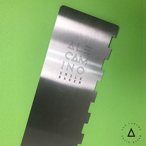 Alisador de acero dentado 1.5 cm - Utensilios