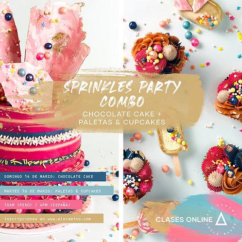 WORKSHOPS Sprinkles Party Cake 14Mar + Sprinkles Party Paletas & Cupcakes 16Mar