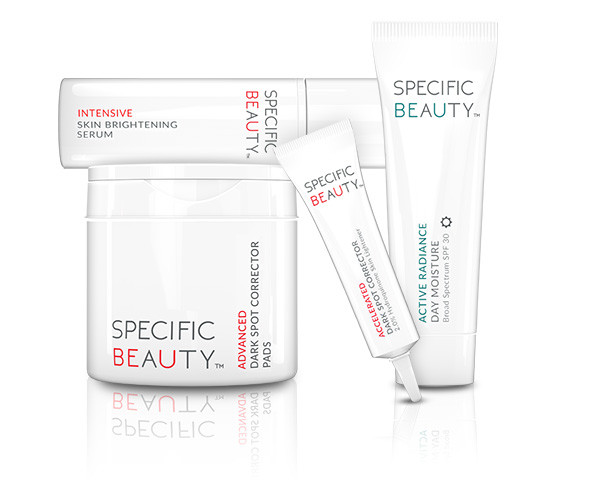 """Specific Beauty """"Live Even Brighter System"""""""