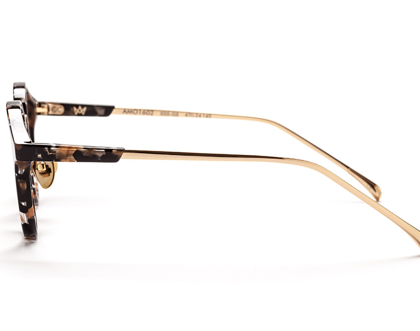 Wright Frame, in Gold Spec