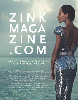 ZinkMagazine.com Ad Page - Z!NK